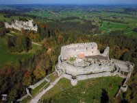 Burg Eisenberg in Bayern