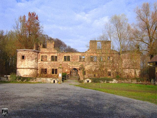 Unteres Schloss Menzingen, Unterburg Menzingen