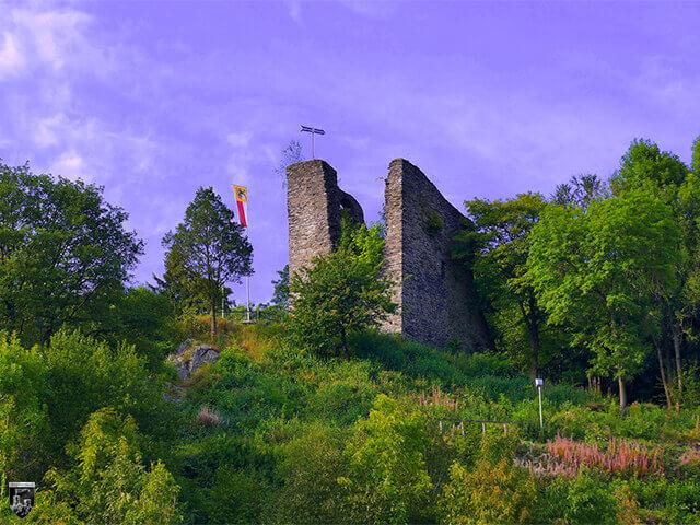 Der Haller, Burg Haller in Monschau